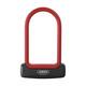 ABUS Granit Plus - Antivol vélo - rouge/noir